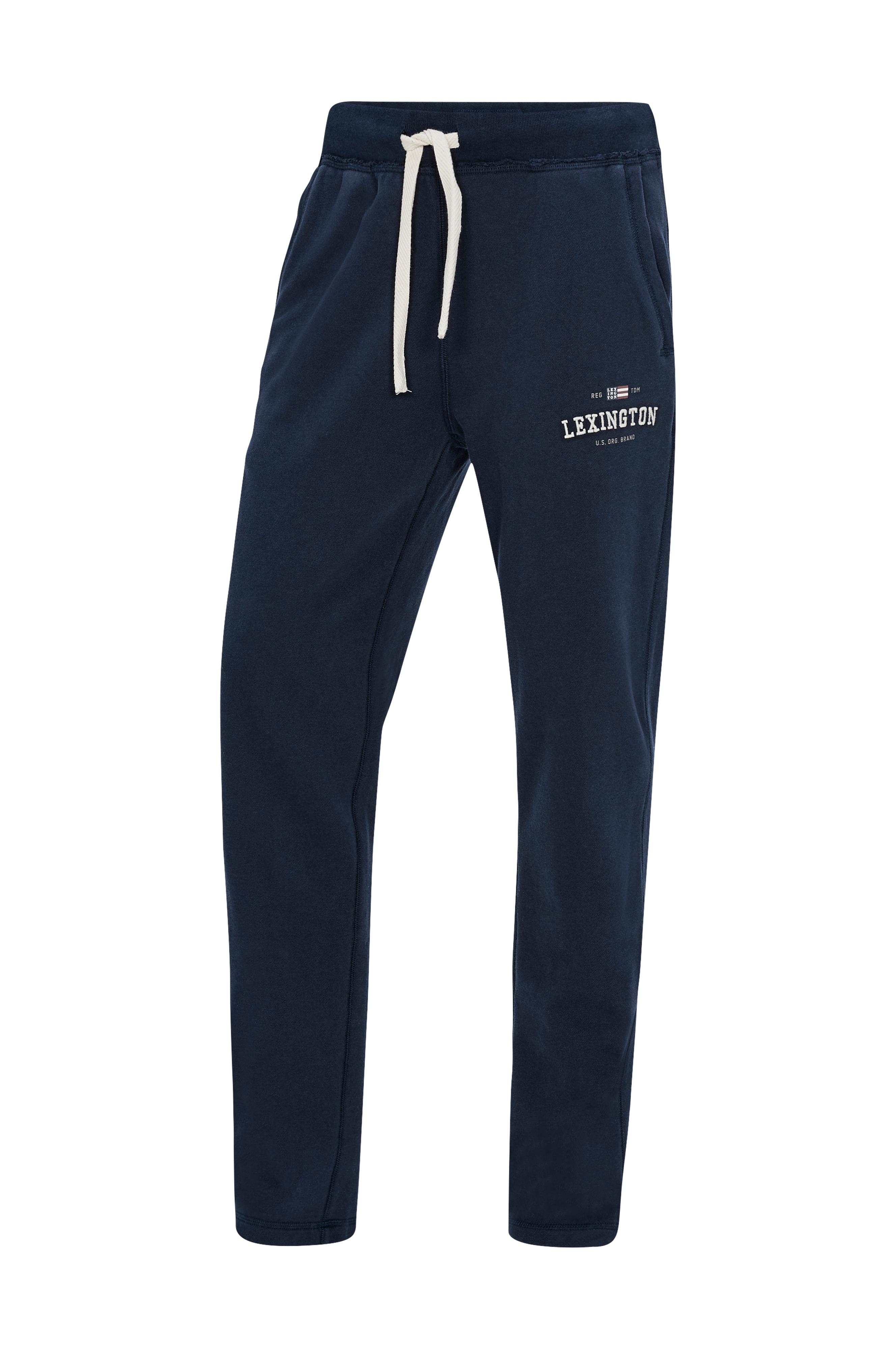 Lexington Joggebukse Brandon Jersey Pants Blå Kosebukser