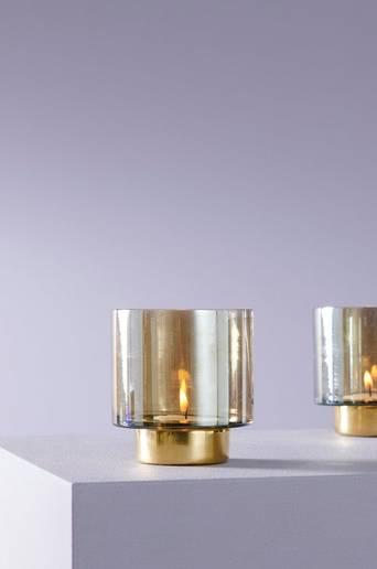 Nova kynttilälyhty, korkeus 8,5 cm