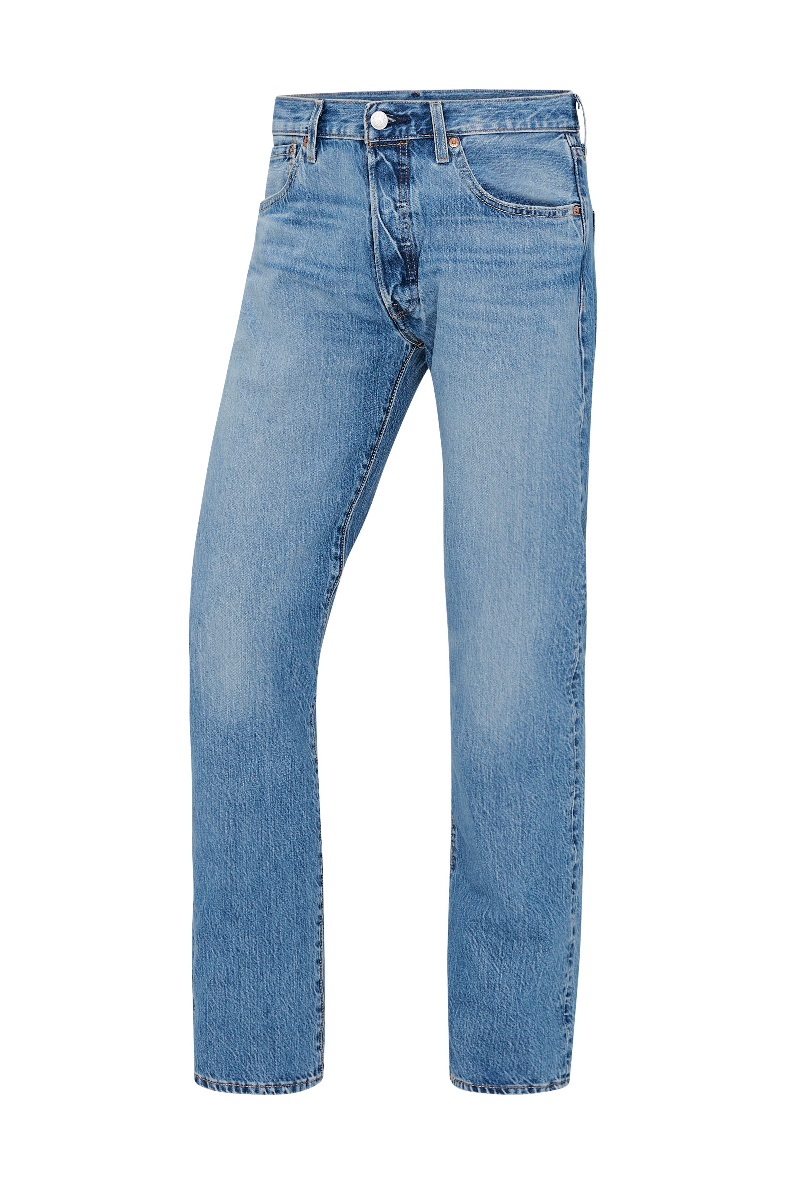 Levi's Jeans 501 Stretch Extensible Blå Stretch Ellos.no