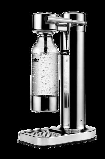 Aarke-hiilihapotuslaite, hopeanvärinen