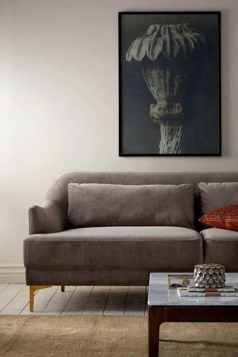 Soffa Cinlay 3-sits i sammet