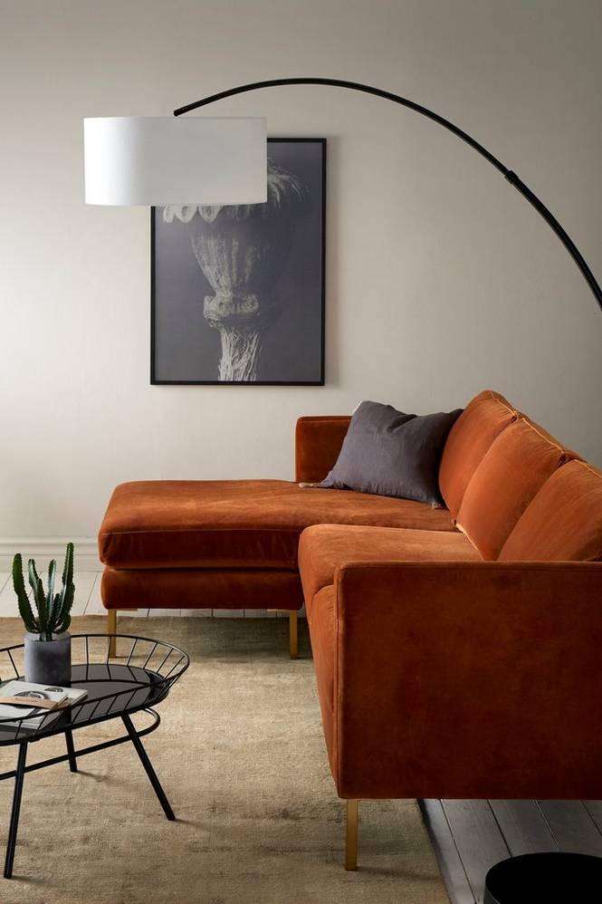 Sofa Setar 3-sits i sammet