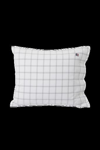 Checked Oxford Pillowcase tyynyliina