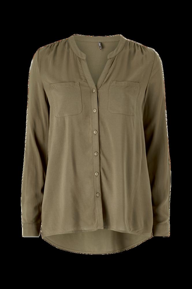 Only Skjorte onlFirst LS Pocket Shirt