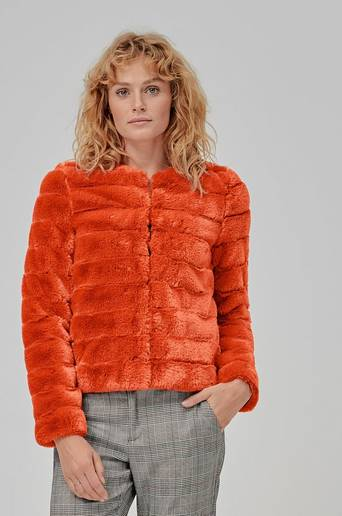 VmAvenue Faux Fur Jacket -tekoturkistakki