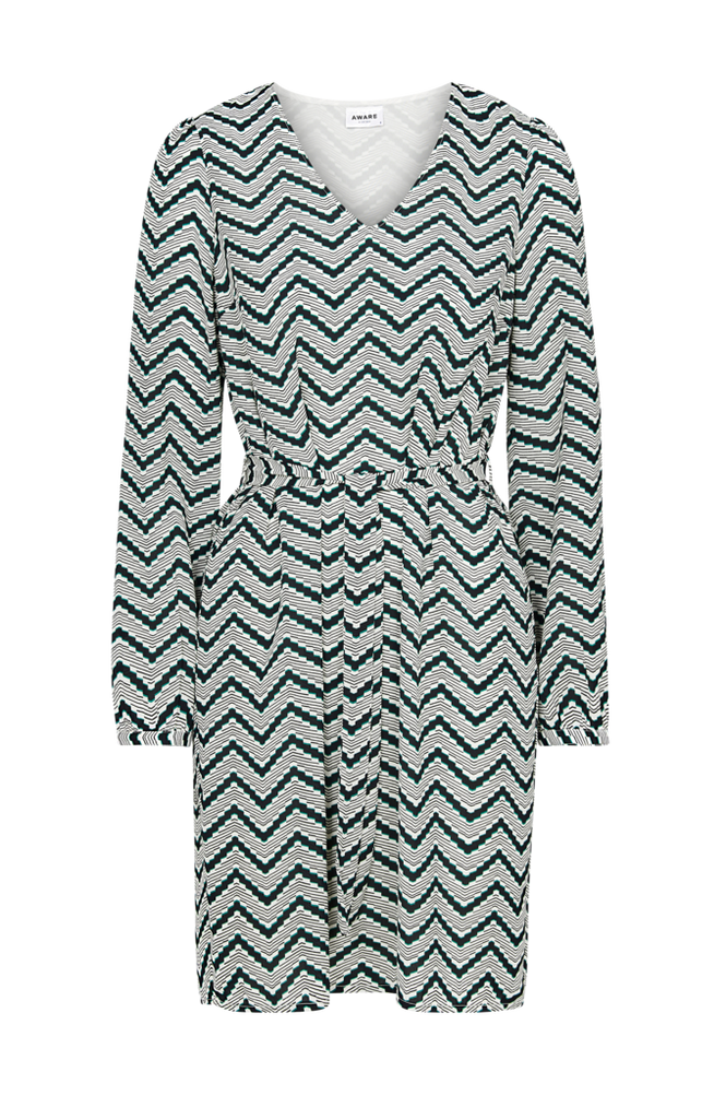 Vero Moda Kjole vmVerona LS V-neck Dress