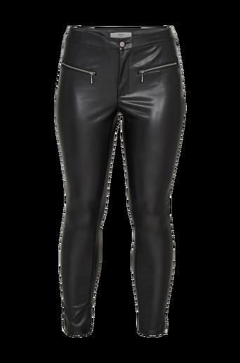 CarJowar Faux Leather Pant -housut