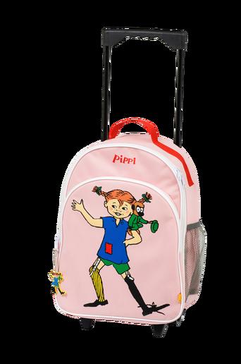 Vedettävä Peppi-matkalaukku, roosa