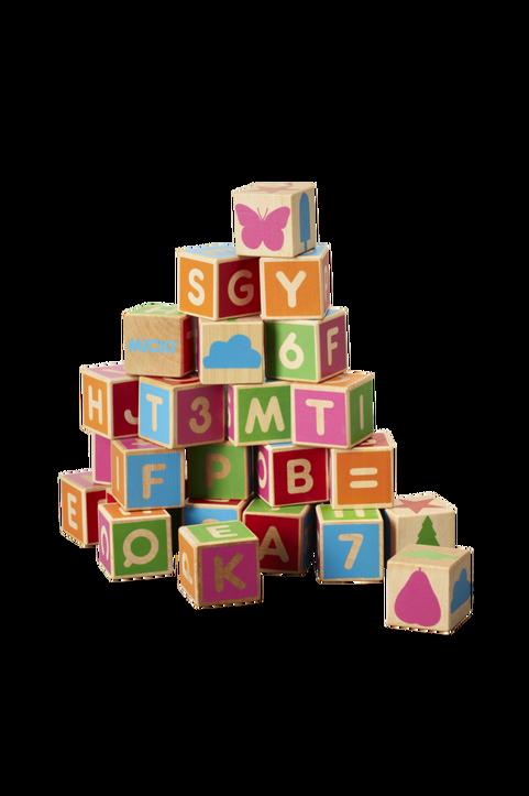 Alfabetsklossar 36st