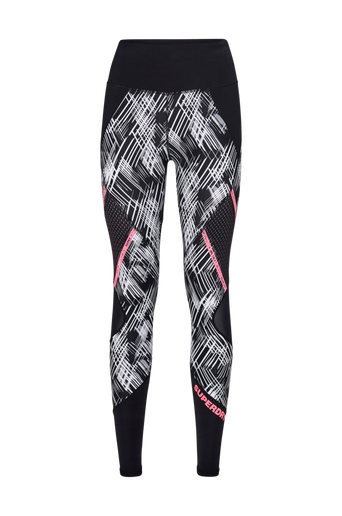 Active Mesh Panel Leggings -treenitrikoot
