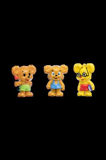 Nalle-Maija-, Lennu- & Teddy-hahmot