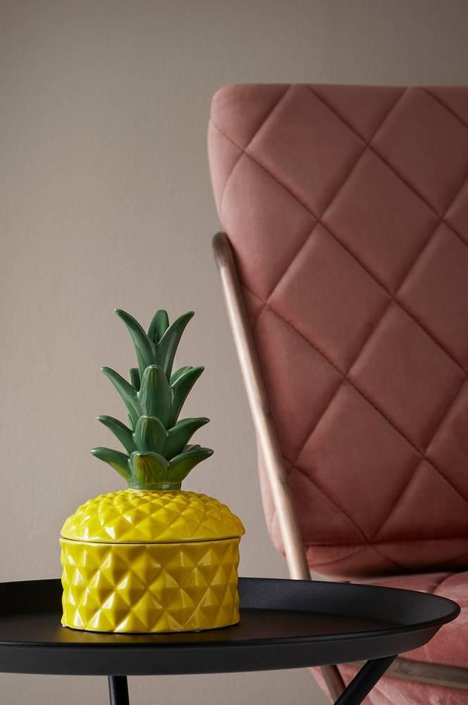 Smyckeskrin Pineapple höjd 21 cm