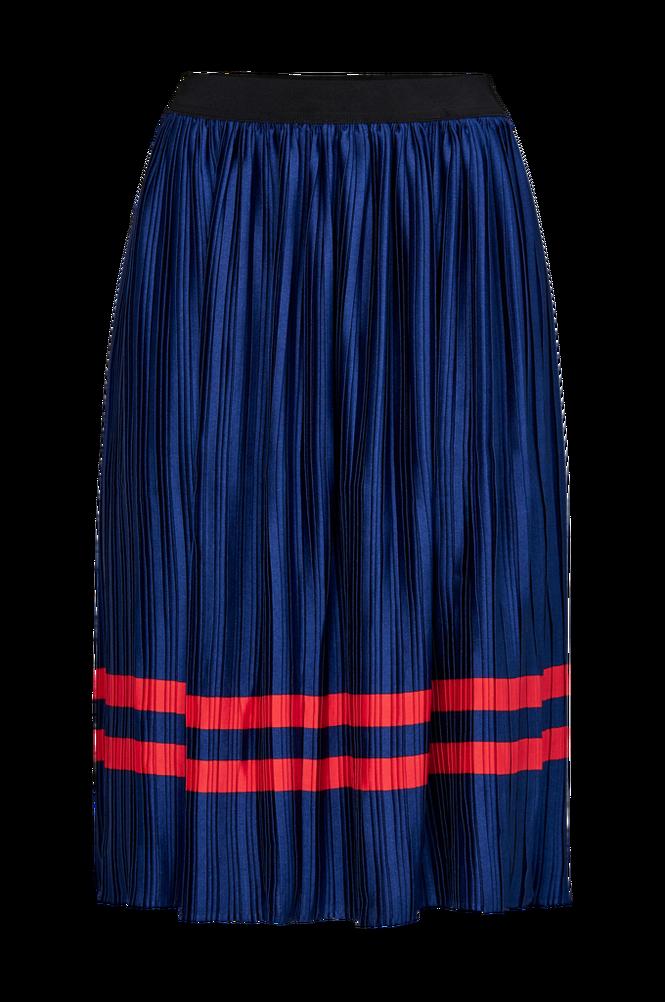 Saint Tropez Nederdel Plisse Skirt Stripe