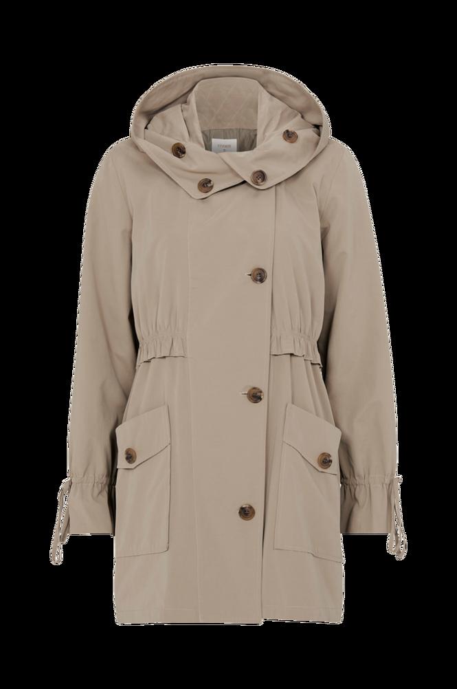 Cream Frakke Ella Coat