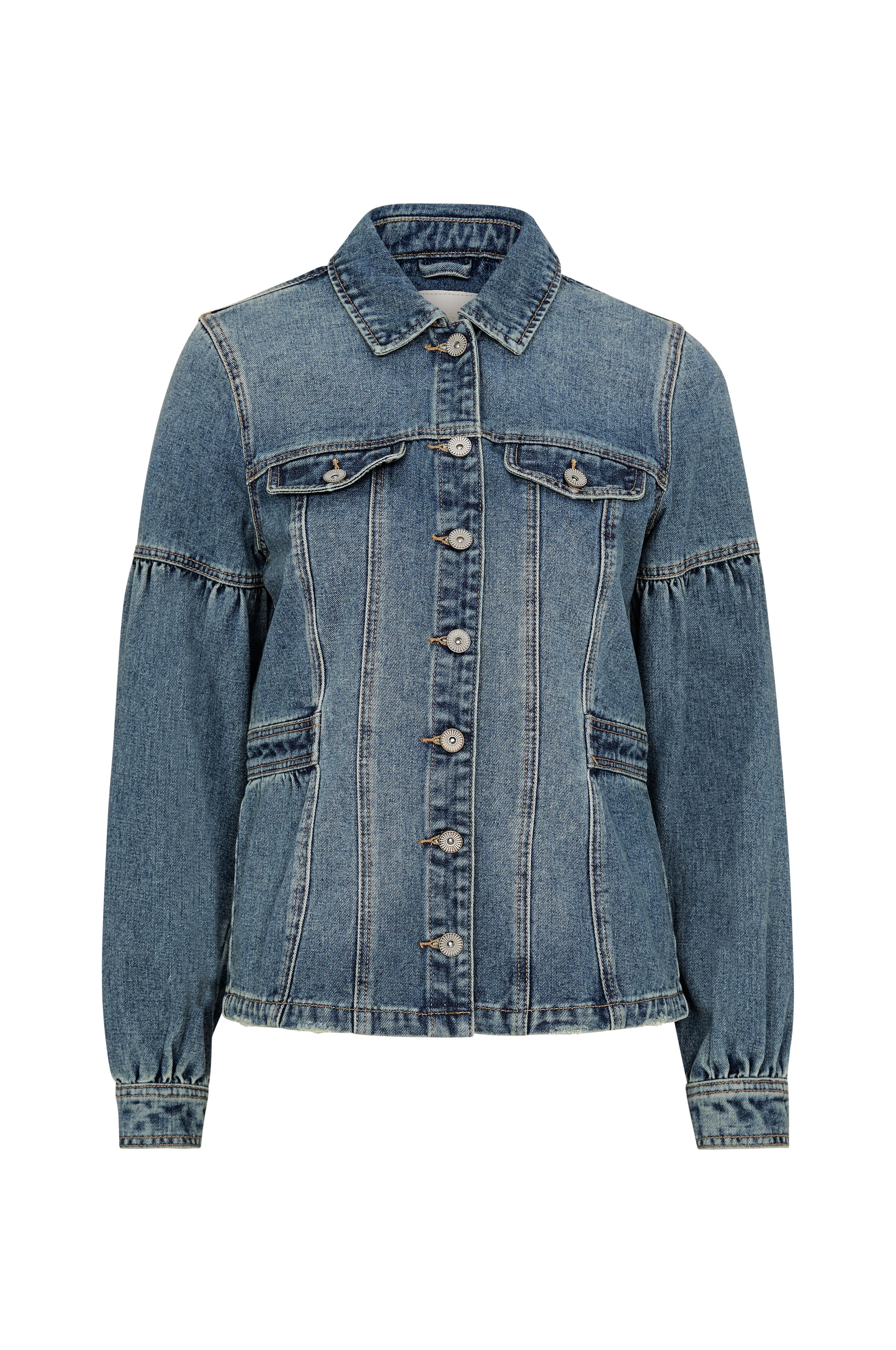 Cream Jeansjakke Brenny Denim Jacket Blå Jeansjakker