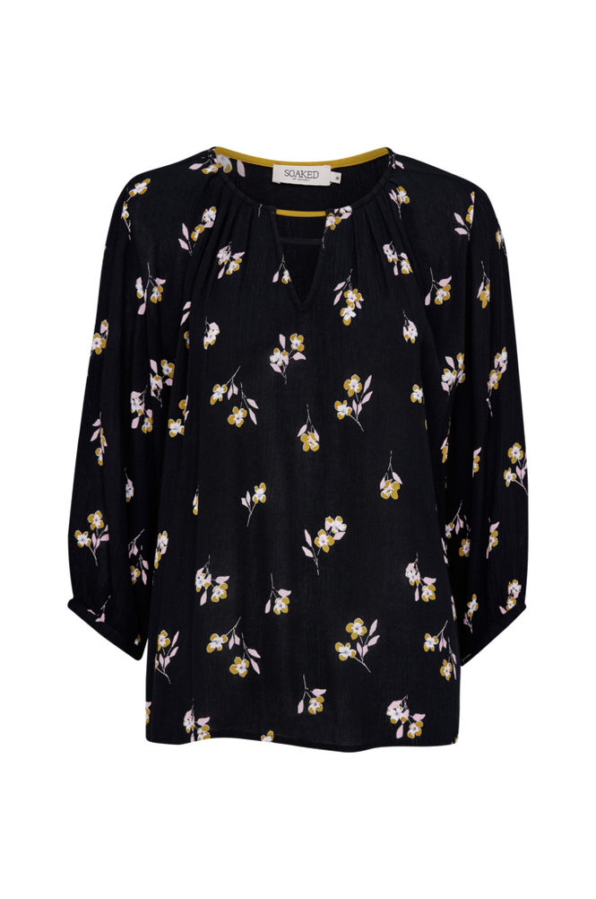 Soaked in Luxury Bluse Sloane Blouse 3/4