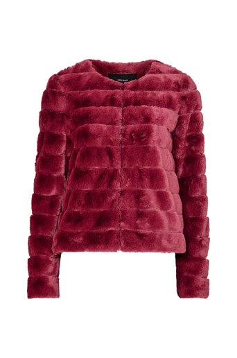 VmAvenue Faux Fur Short Jacket -tekoturkistakki