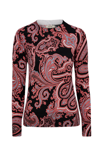 Brigid Sweater Paisley -pusero