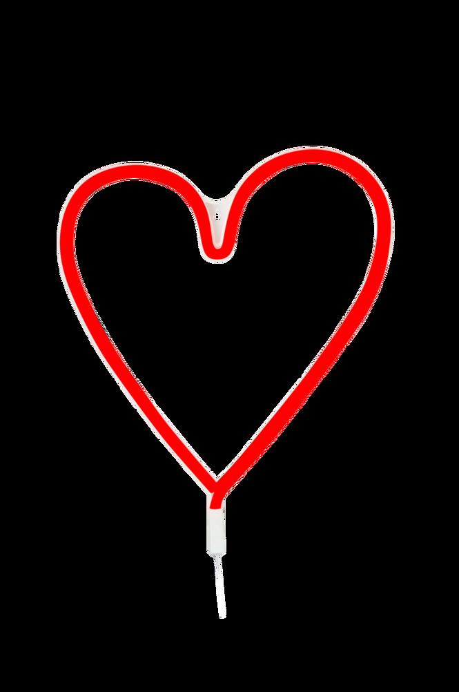 Vägglampa Vegas Hjärta