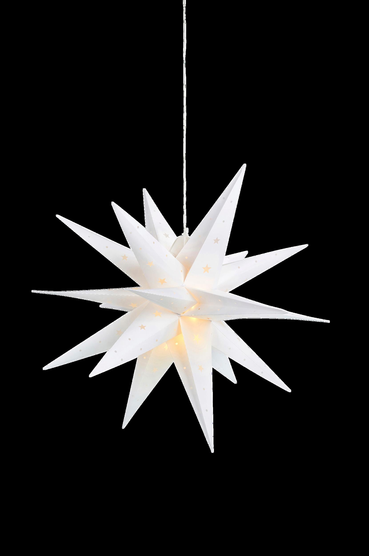 Markslöjd - Stjärna Ute&Inne 3D Vectra 60 - Vit