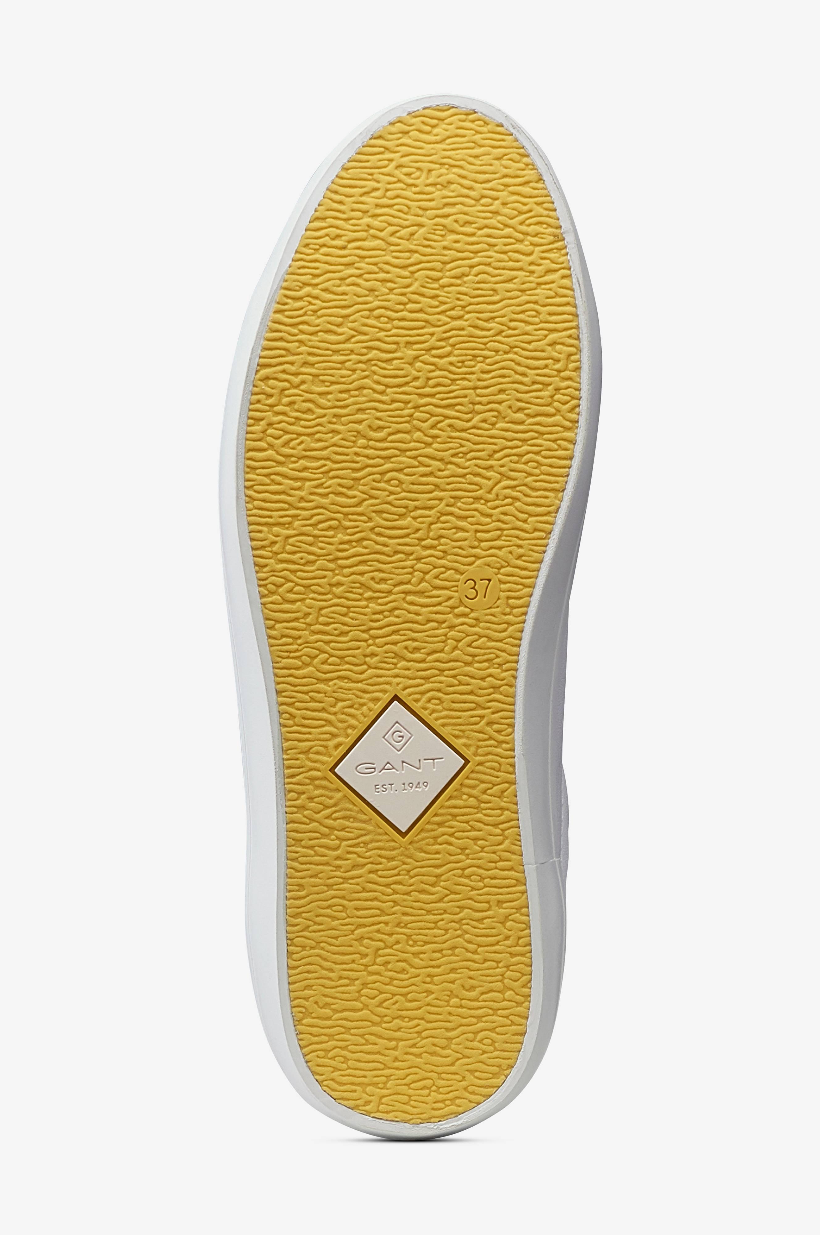 Gant Sneakers Baltimore Low Lace Shoes Vit Dam Ellos.se