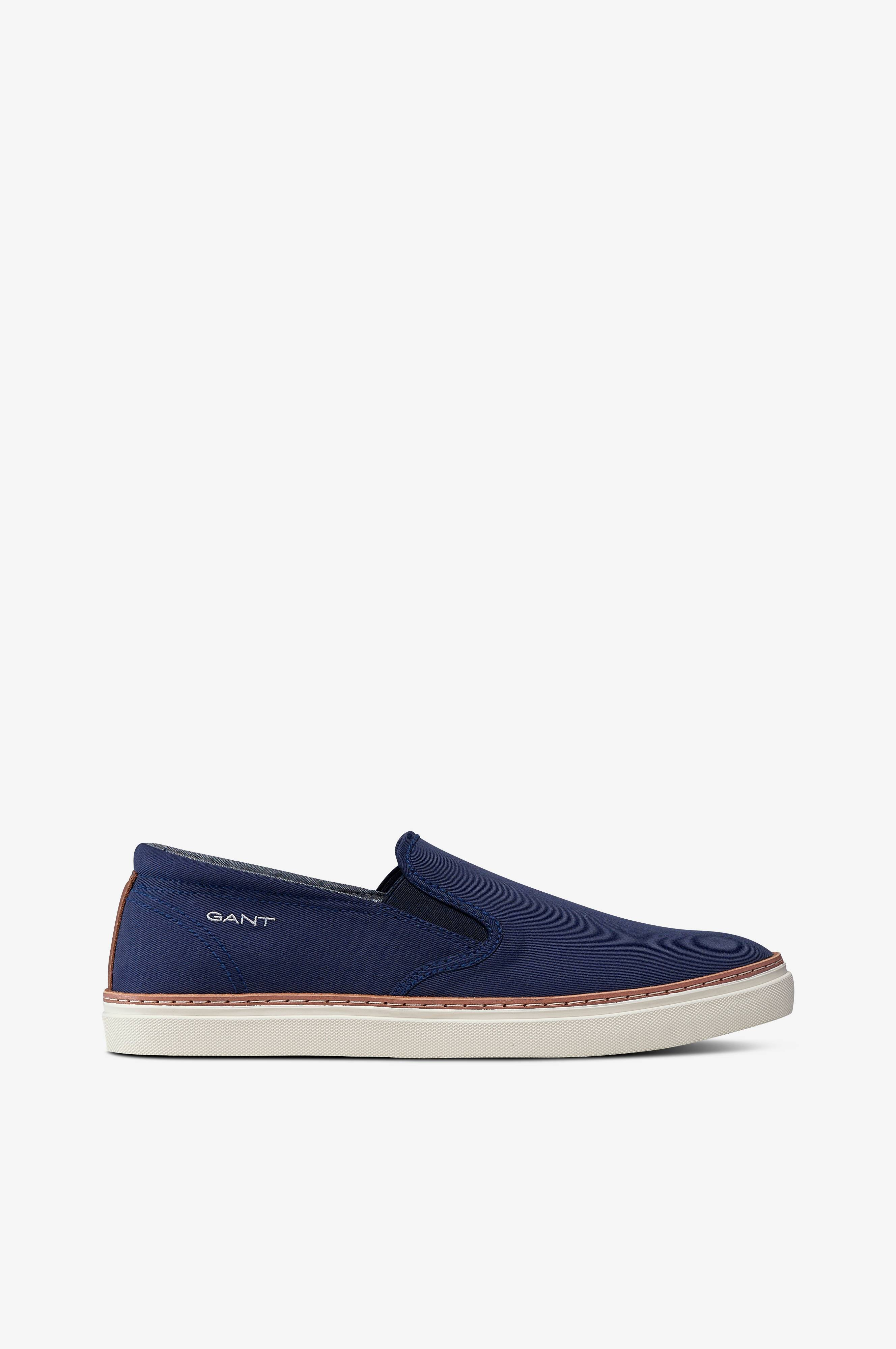 Gant Sneakers Bari Slip on Blå Herre Ellos.no