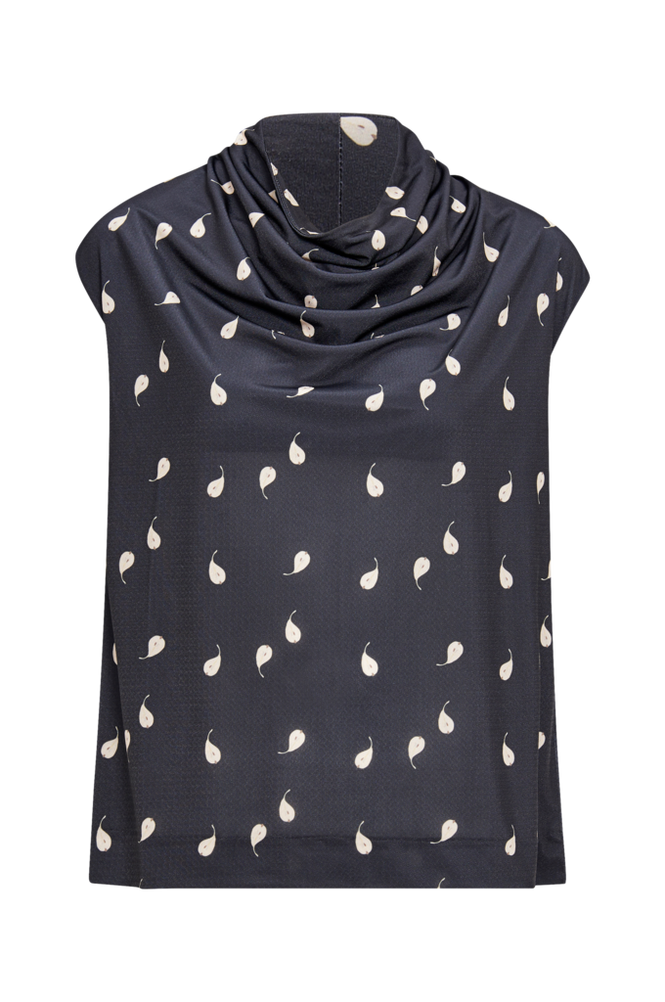 Whyred Top Moina Graphic Pear Top