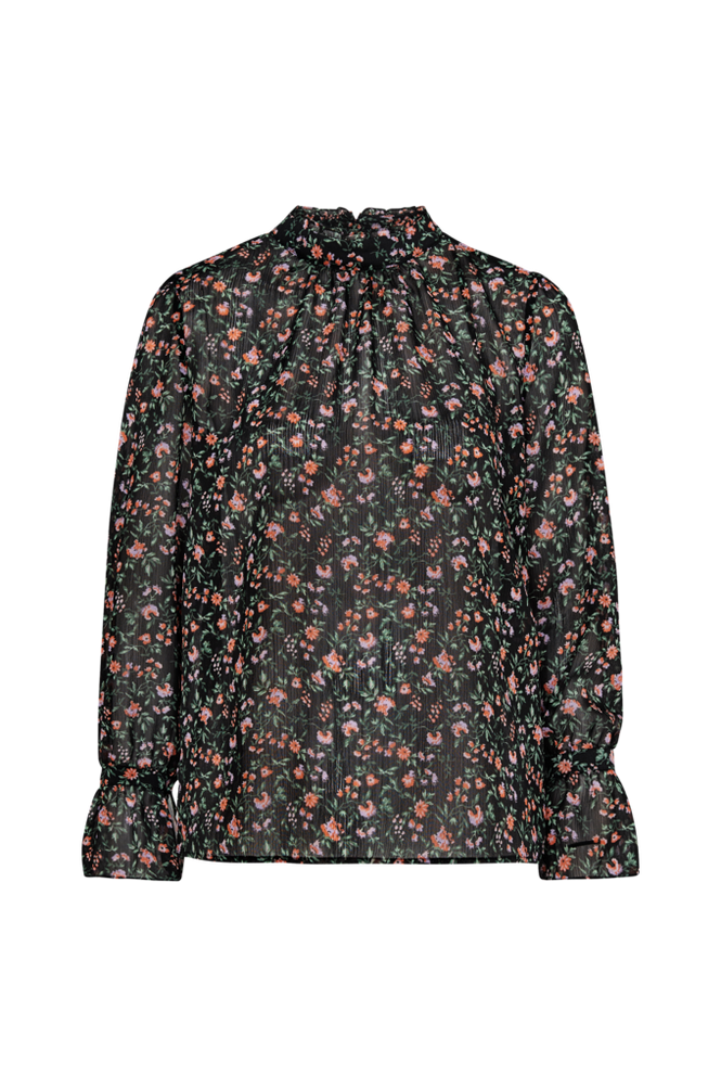 Soaked in Luxury Bluse SL Floria Blouse LS