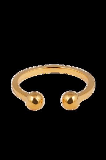 Strict Plain Ball Ring -sormus