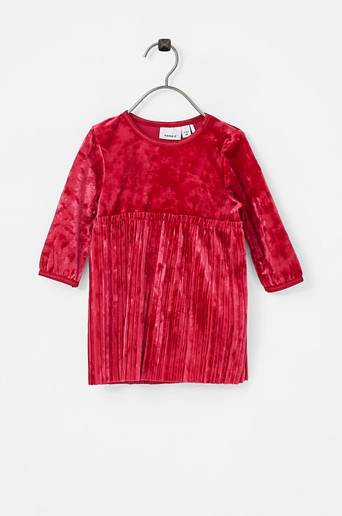 NbfSelina LS Dress veluurimekko