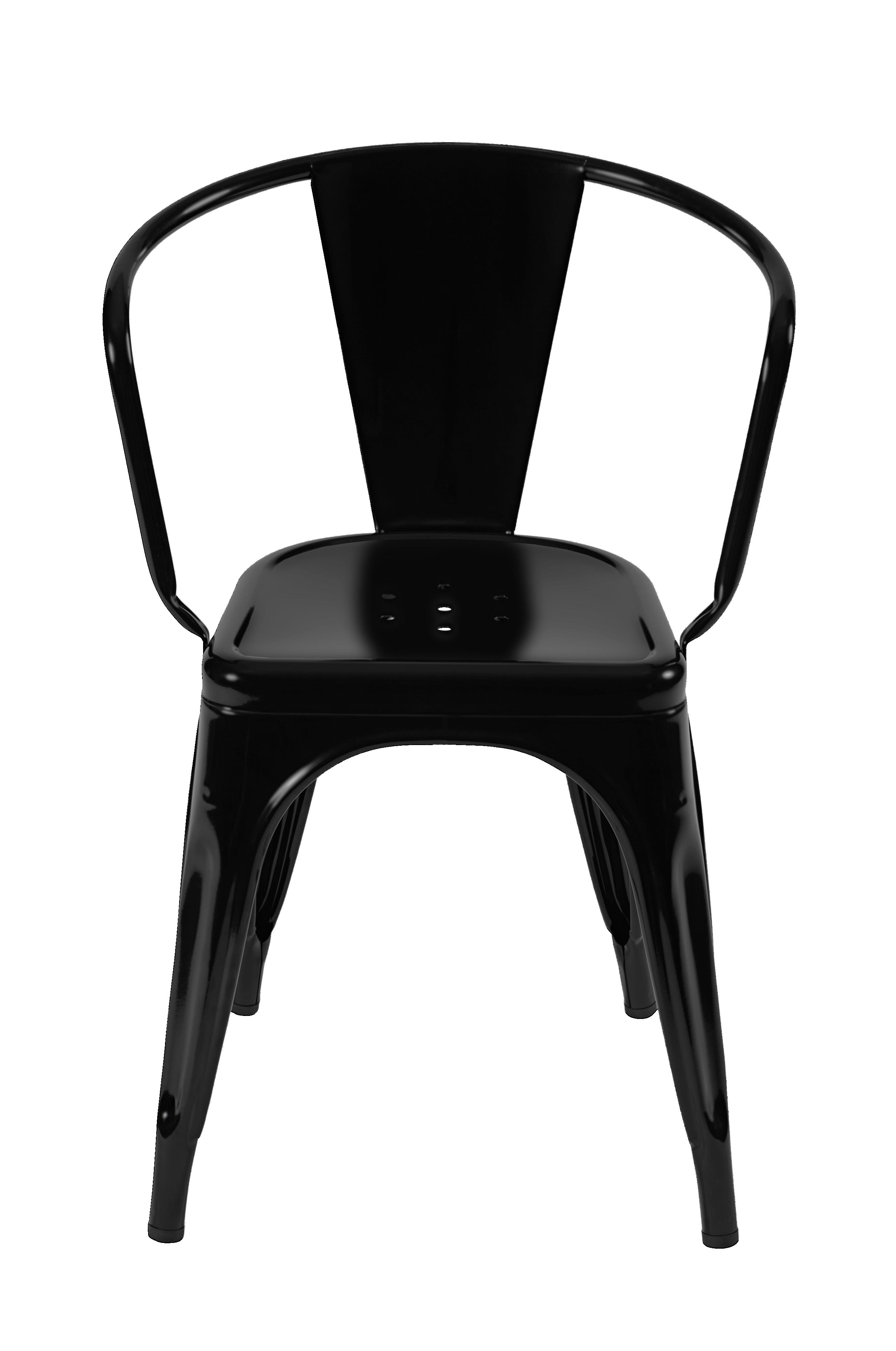 Tolix Stol A chair outdoor Sort Stole Ellos.dk
