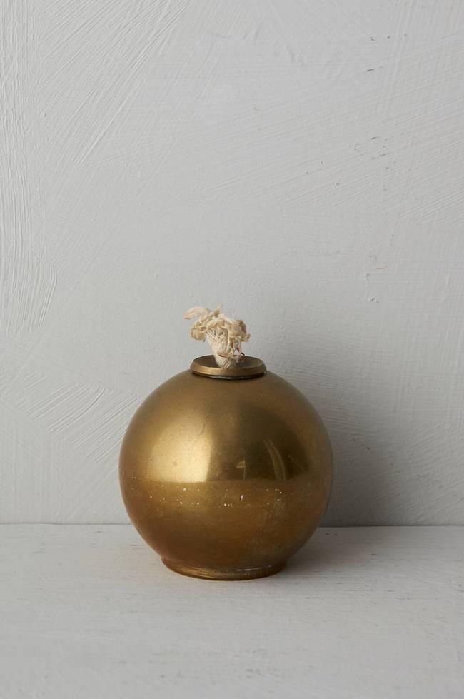 Bilde av Oljelysestake Ball, høyde 7 cm