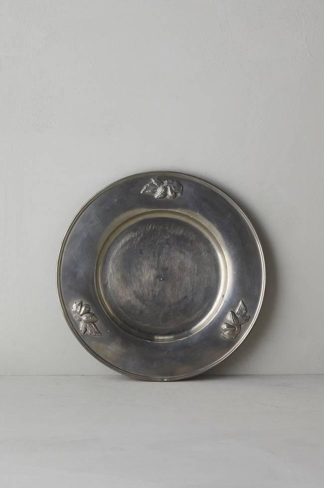 Bilde av Tinnfat, diameter 35 cm