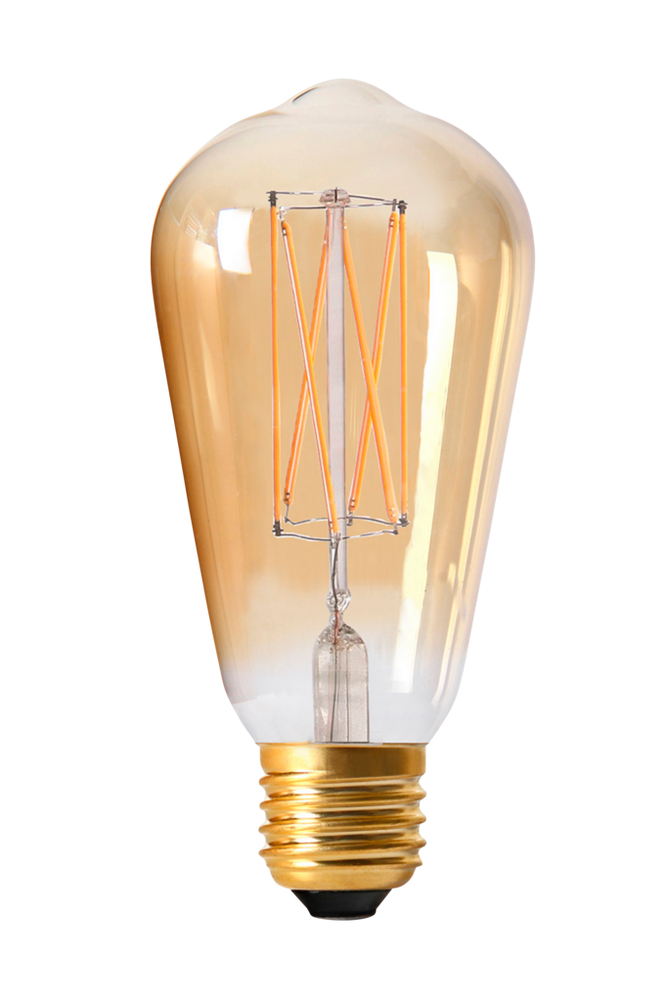 Elect LED 3-Step dim Edison 64mm