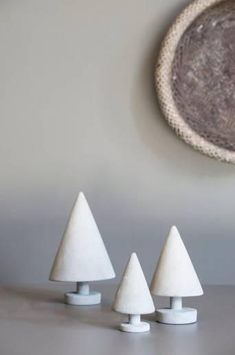 CONCRETE TREE -joulukoriste, medium