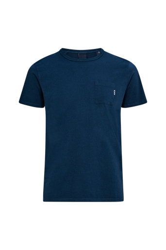 Ams Blauw 1 Pocket Tee T paita