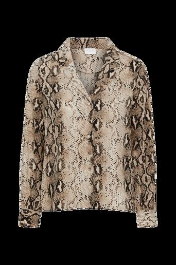 ViAmelia L/S Shirt -paita, jossa käärmekuvio