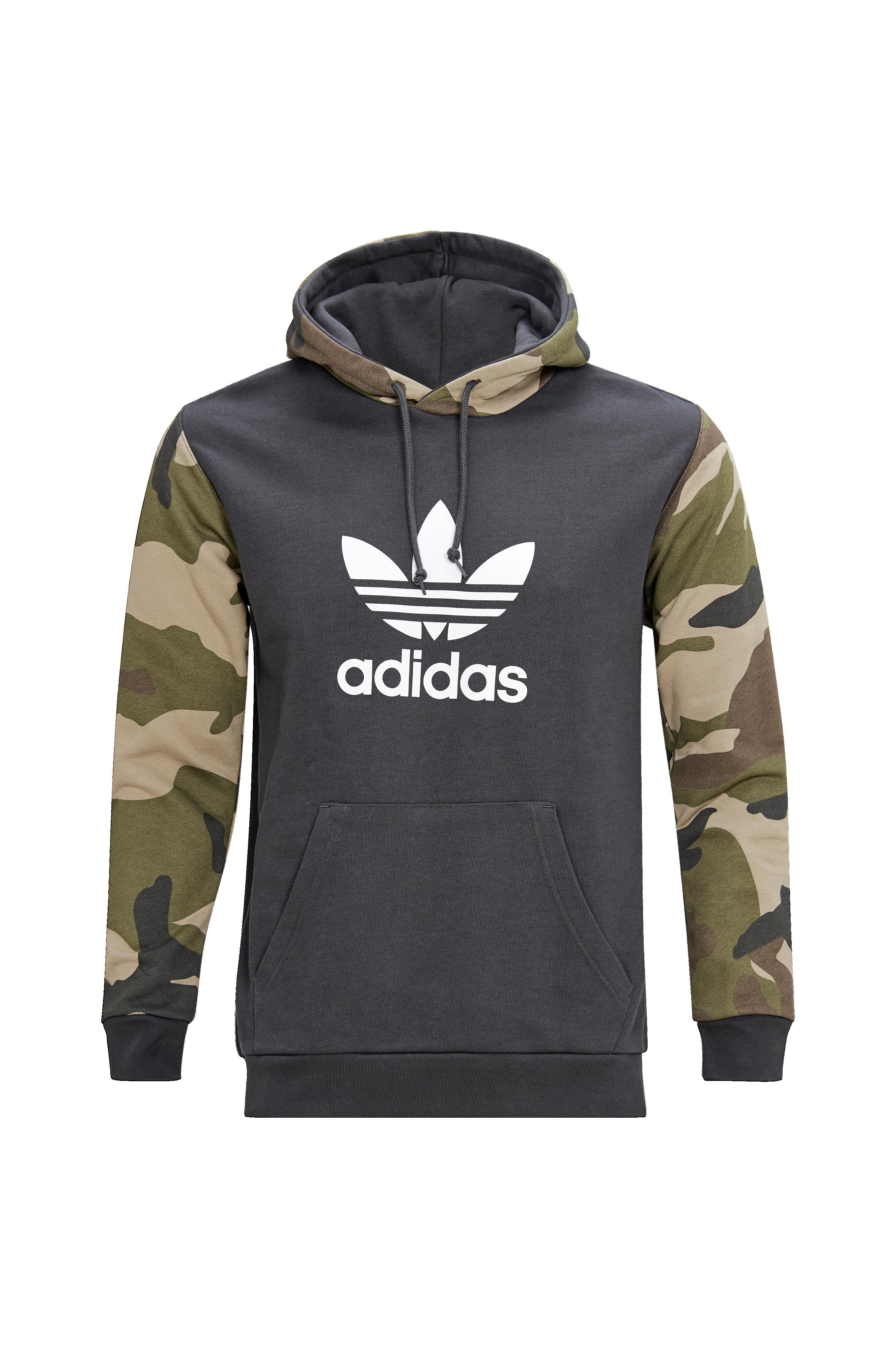 adidas Originals Huvtröja Camouflage Hoodie Grön