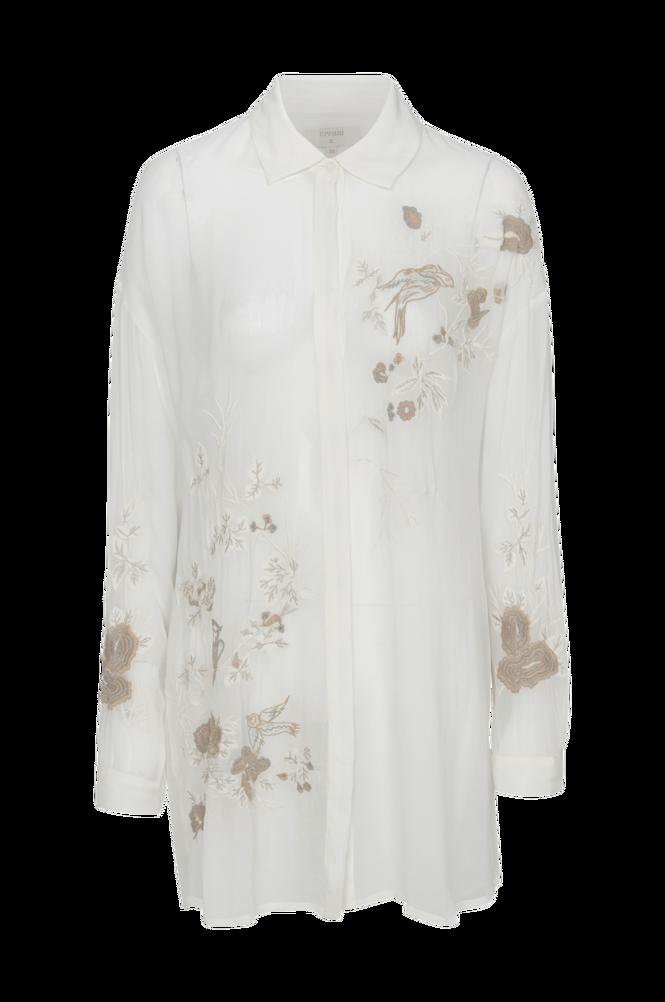 Cream Skjorte Jazmin Oversize Shirt