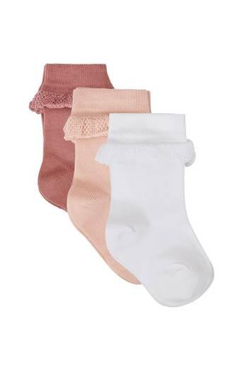 Baby Ankle Sock -sukat, 3 paria
