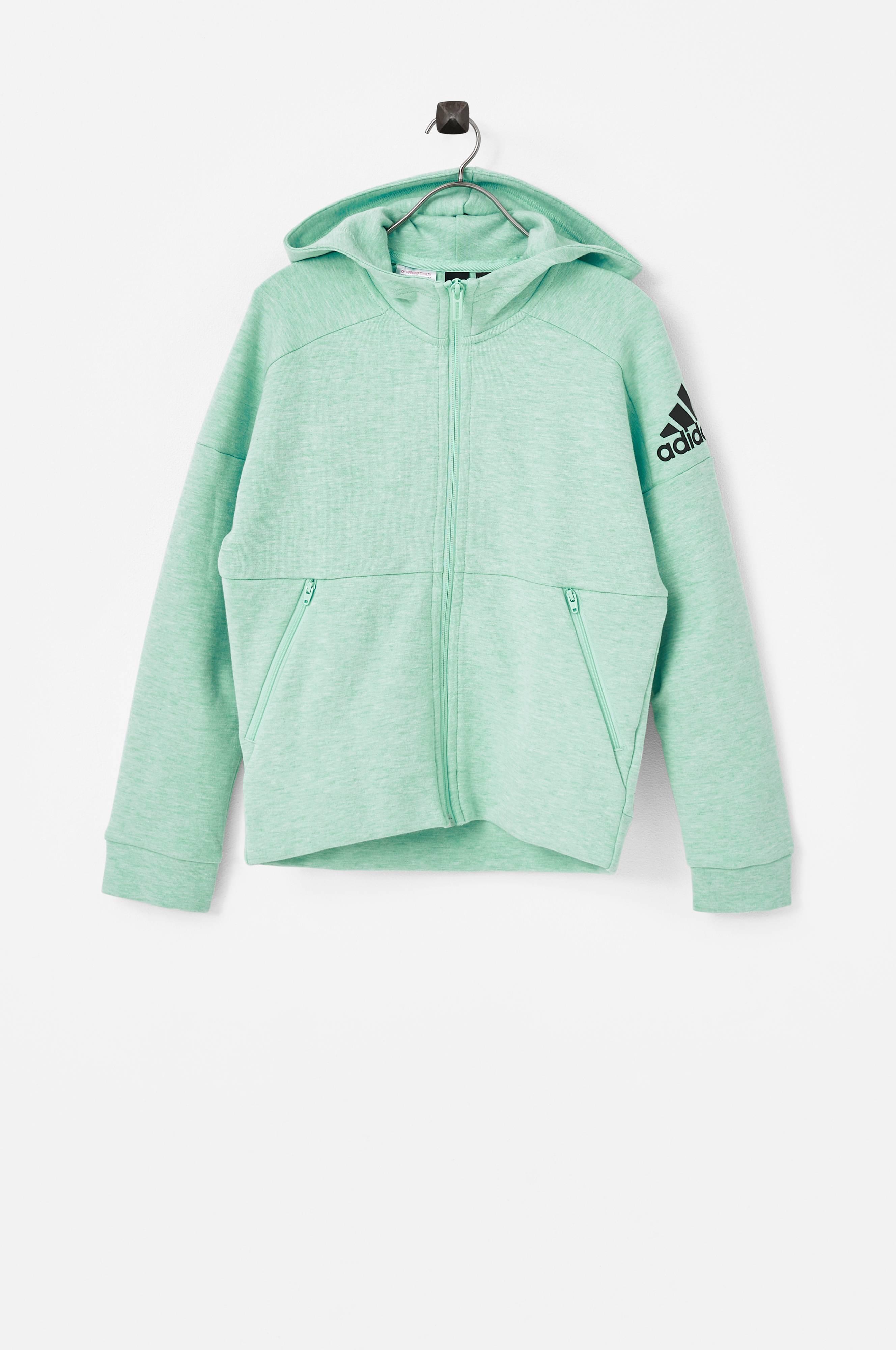 Adidas mint green track jacket