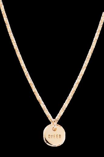 Queen Coin Necklace -kaulakoru