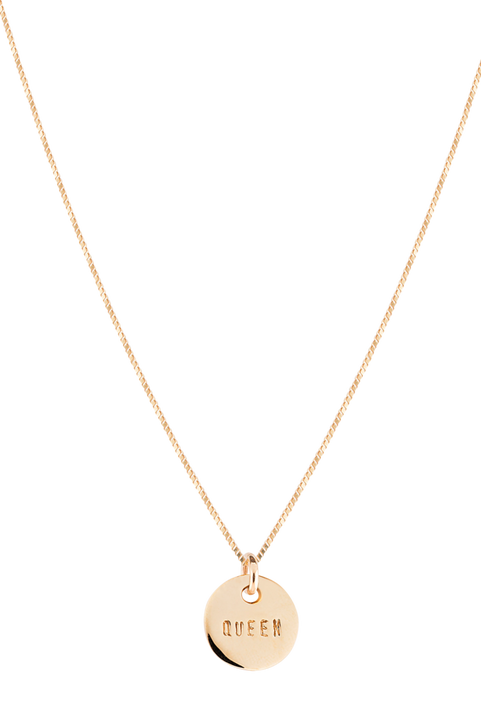 Halsband Queen Coin Necklace
