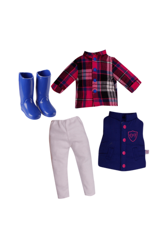 Horse riding outfit