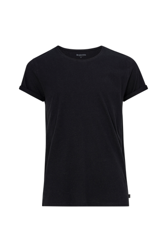 Jimmy Solid Cotton linen T paita