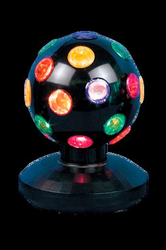 4 Disco Ball Black 10 cm