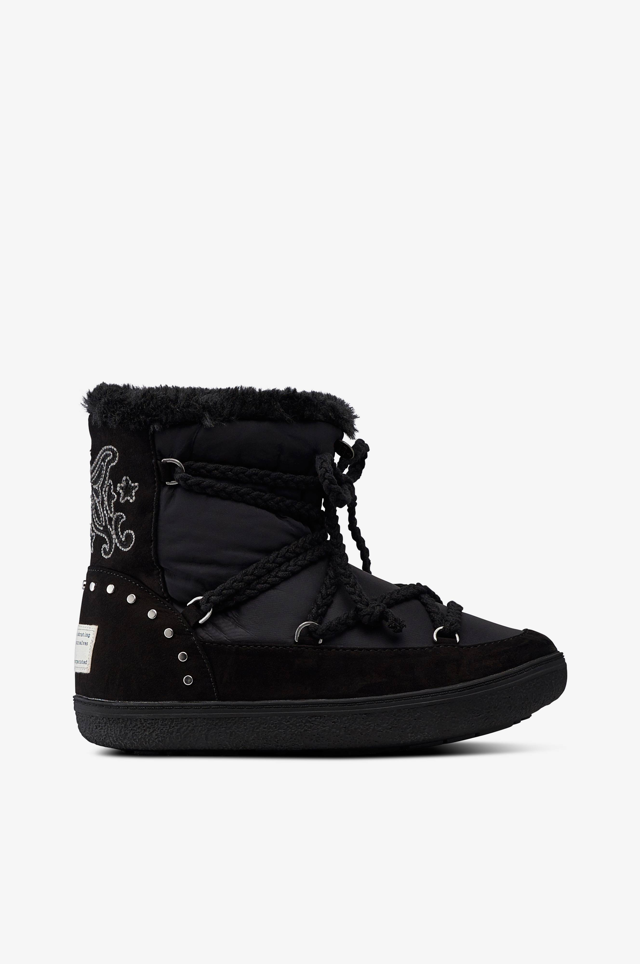 Odd Molly Snowboots Soft Arctic Low Boot Svart Boots