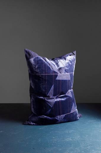 Patchy cushion 60x80 cm