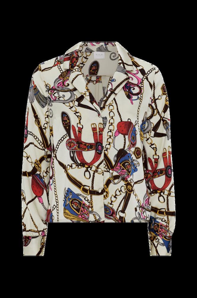 Vila Bluse viSanka L/S Shirt