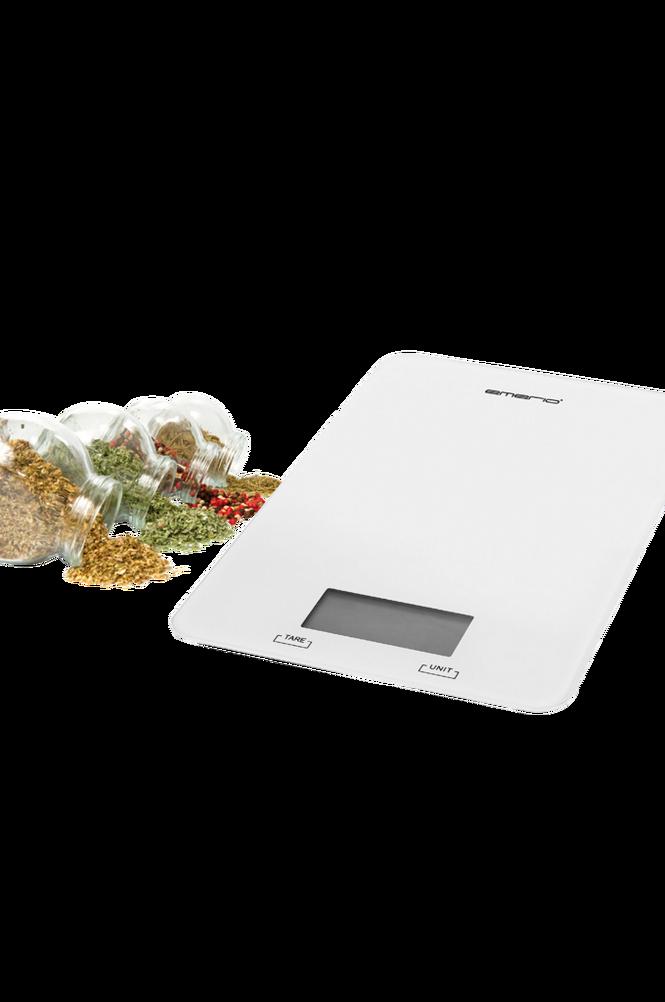 Köksvåg Vit upp till 5kg